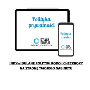 polityka prywatności na stronę gabinetu