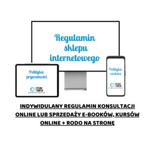 regulamin konsultacji online w gabinecie